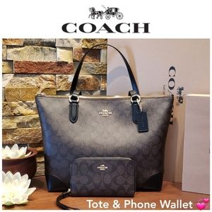 *SALE - last one* NEW Coach Tote & Wallet